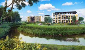 nowe osiedle w Krakowie